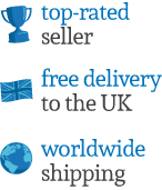 UK Based Contact Centre, Free Delivery and Worldwide Shipping